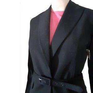 New TAHARI Belted Jacket Blazer 8 DESIGNER COUTURE